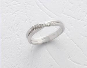 Inel Safirelli de 18K cu diamant 0,11 ct, taietura brilliant